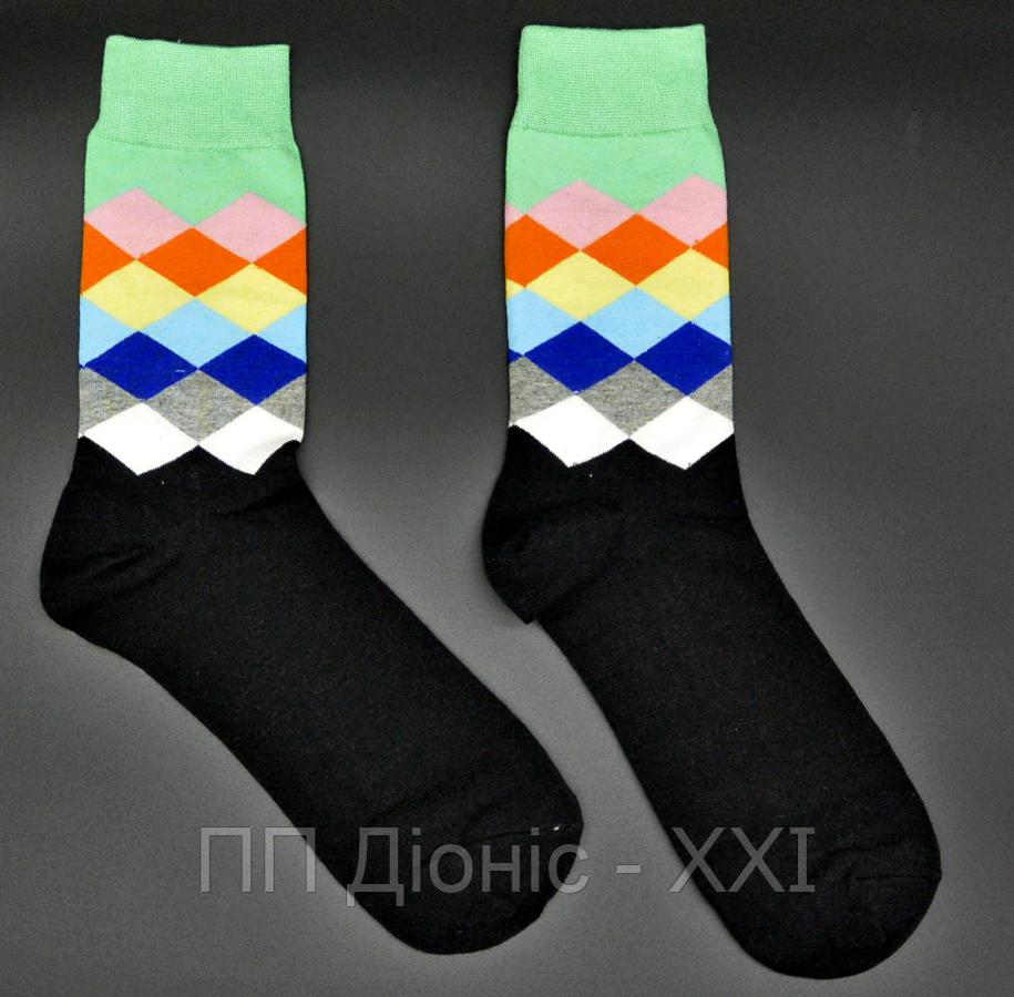 Крутые мужские носки Английский стиль №6 Hot Sox