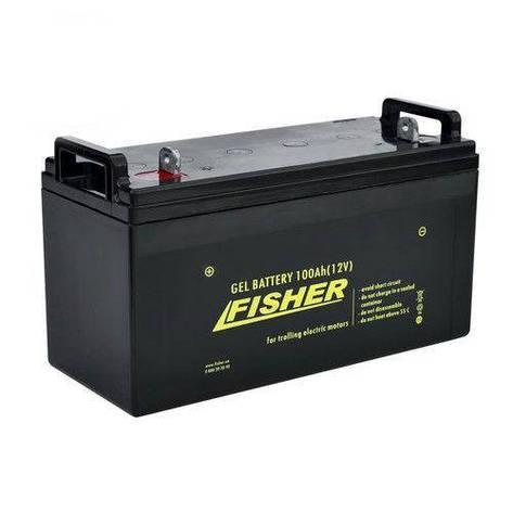 Акумулятор тягової Fisher 150Ah гель., Fisher 150Ah, фото 2