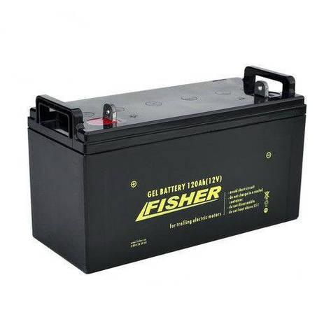 Акумулятор тягової Fisher 120Ah гель., Fisher 120Ah, фото 2