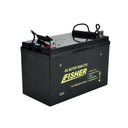 Аккумулятор тяговой Fisher 80Ah гель., Fisher 80Ah