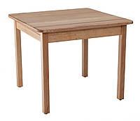 Столик детский деревянный квадратный из бука