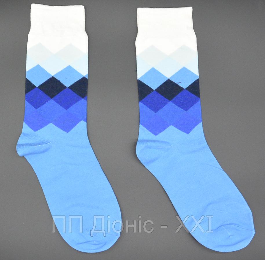 Крутые мужские носки Английский стиль №7 Hot Sox