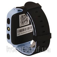 Детские умные смат часы M05 с GPS, фонариком и камерой Голубой, фото 3