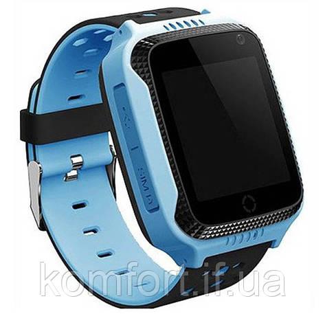 Детские наручные смарт часы Smart Baby Watch A15 Голубой, фото 2