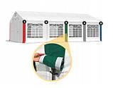 Шатер Палатка Садовая с окнами SUMMER  ПВХ 5 x 10m, фото 9