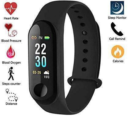 Часы Фитнес браслет Smart Watch M3\G3 Черные, фото 2