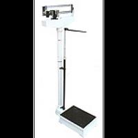 Весы механические медицинские до 160 кг с телескопическим ростомером RGZ-160, Весы механические с ростомером