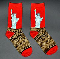 Крутые мужские носки Статуя Свободы Hot Sox, фото 1
