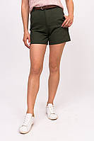 Джинсовые женские шорты LUREX - зеленый цвет, M (есть размеры), фото 1