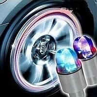 Светящиеся колпачки на ниппель, led светодиодные колпачки на ниппель колеса