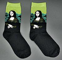 Крутые мужские носки Мона Лиза Hot Sox, фото 1