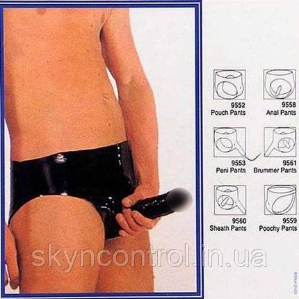 Latexslip с пенисом и анальным фаллоимитатором, фото 2