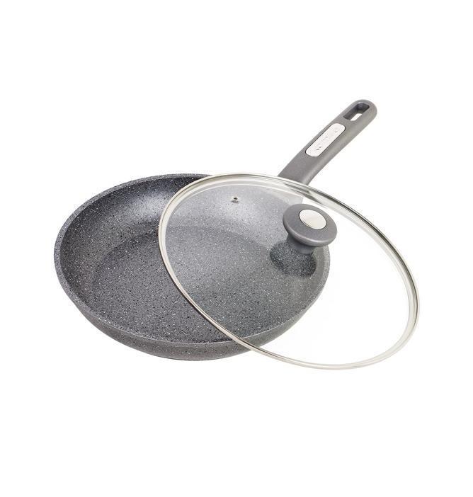 Сковорода Kamille Granite Ø24см с крышкой