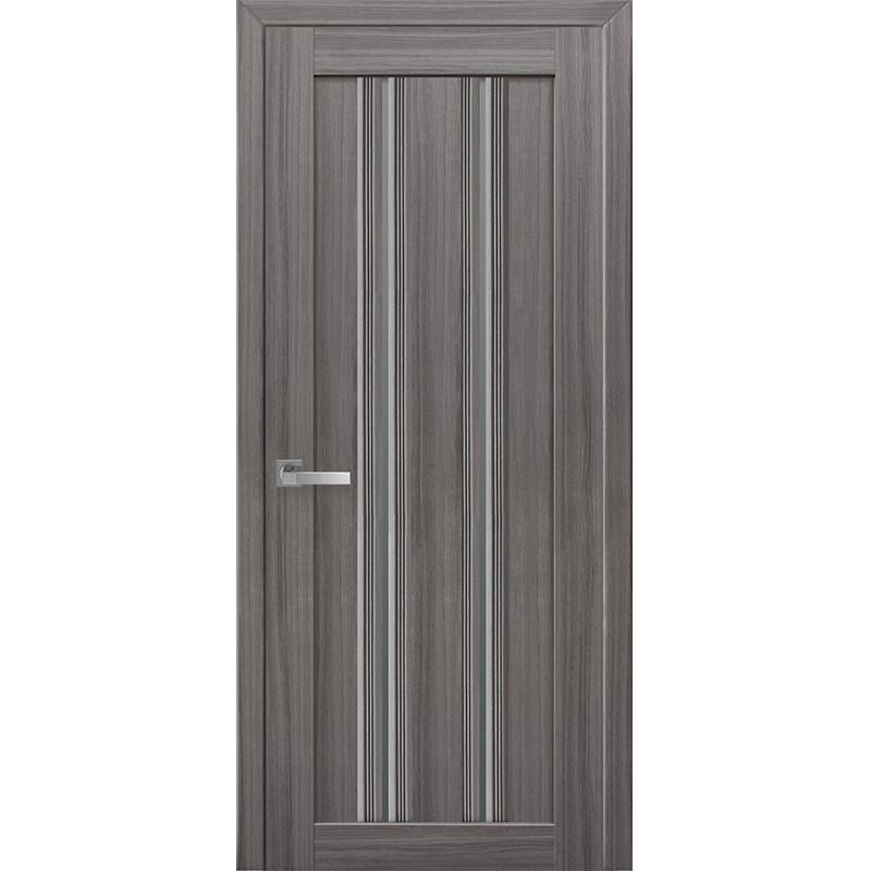 """Дверь """"ИТАЛЬЯНО"""" Верона С1 стекло графит"""