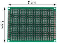 Макетная плата 5x7см двухстор.