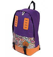 Рюкзак Міський нейлон Lanpad 3338 purple