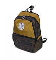 Рюкзак Міський нейлон Lanpad 3380 yellow