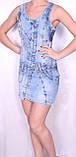 Джинсовое легкое платье Турция, фото 2