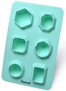 Форма силиконовая для льда и конфет Fissman Геометрия 16.5х10.5см