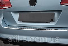 Накладка на задний бампер VW PASSAT B7 (универсал)
