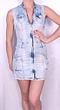 Джинсовое платье Турция, фото 4