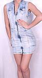 Джинсовое платье Турция, фото 5