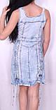 Модне джинсове легка сукня Туреччина, фото 6