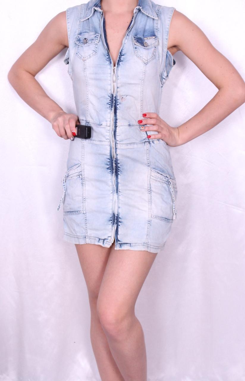 Джинсовое платье Турция