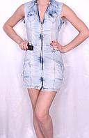 Джинсовое платье Турция, фото 1