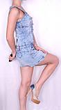 Джинсовое легкое платье Турция, фото 3