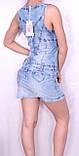 Джинсовое легкое платье Турция, фото 8