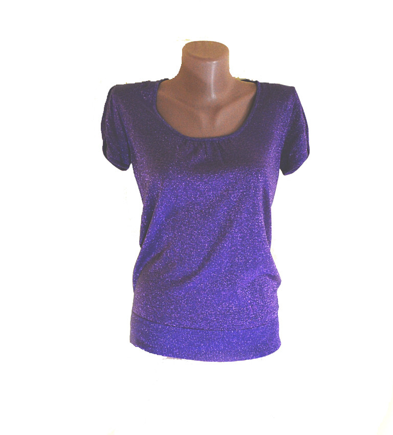 Блуза OGGI сиреневая с люрексом 42-46