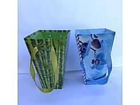 """Коробка из тонкого картона """"Конус» высокий с лентой, фото 1"""