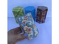 Коробка шестигранная средняя 12*7