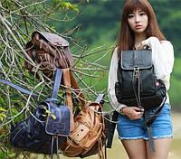 Молодежный рюкзак. Стильный рюкзак. Женский рюкзак. Качественный рюкзак. Код:КРСК155, фото 1