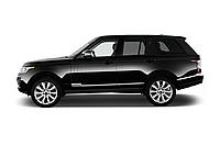 Накладки воздухозаборников на двери Range Rover Vogue L405 (черные)