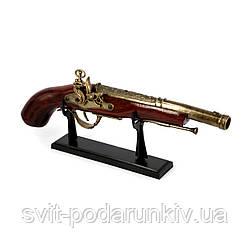 Зажигалка пистолет в форме старинного мушкета A-023