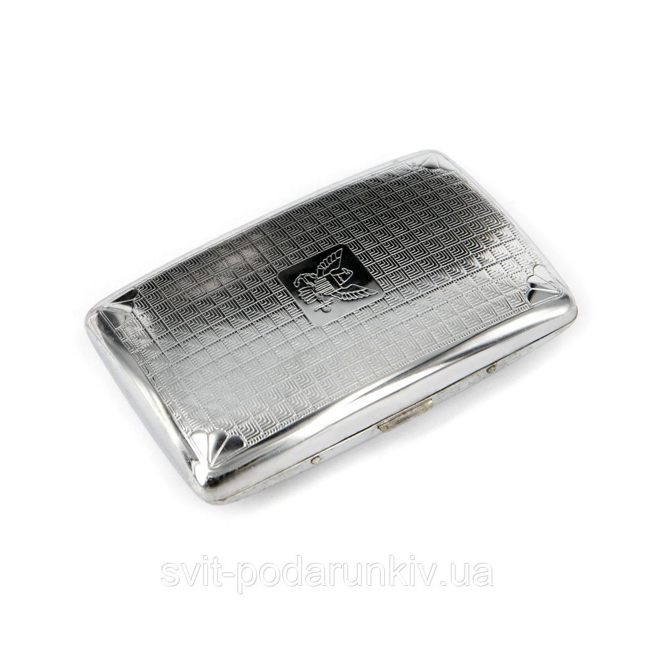 Портсигар 200021 металлический