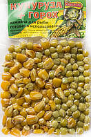 Горох-Кукурудза в вакуумній упаковці ТМ Карпуша (мед) 100g