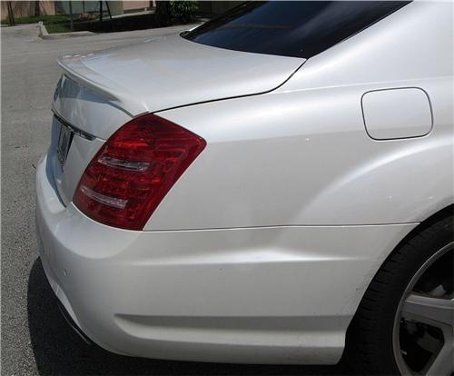 Спойлер Mercedes S-class W221 (abs-пластик)