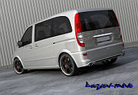 Бампер задний Mercedes Vito W639 03-