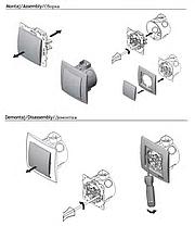 Перекрестный выключатель Nilson Touran Metallik серебро, фото 2