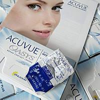 Контактні лінзи Acuvue Oasys with HYDRACLEAR Plus (Акувью Оазис)