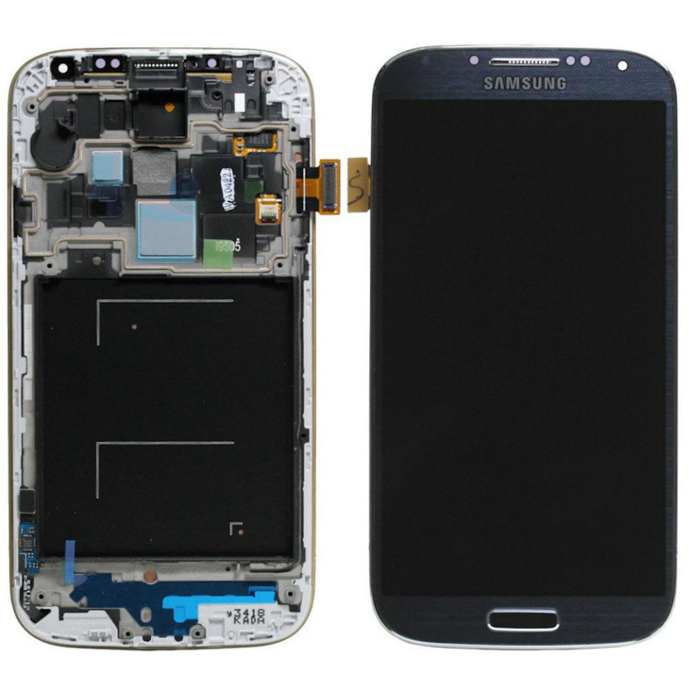 LCD экран+тачскрин Tina Samsung Galaxy S4 I9500 (2013) (TFT) с рамкой