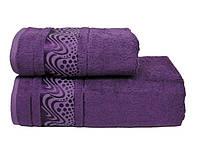 бамбуковое махровое полотенце Mariposa Aqua 50x90см