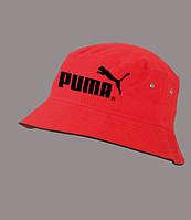 Панама летняя PUMA black , красная  ПУМА как оригинал , фото 1