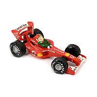 Копилка 3F8202 гонщик на автомобиле формулы 1 Larossa красный