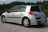 Бампер задний Renault Megane II хетчбек
