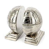 Держатель для книг в виде глобуса букенд металлический D1237