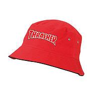 Панама THRASHER, червона | Трешер лого чоловіча як оригінал, фото 1